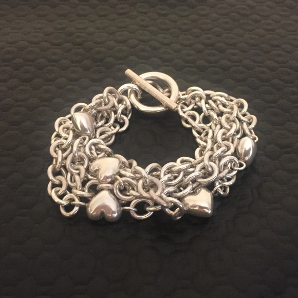 8531a2adc Tiffany & Co. 5 Strand Puff Heart Toggle Bracelet.  M_5b82c15c04ef5068c6be1a1b